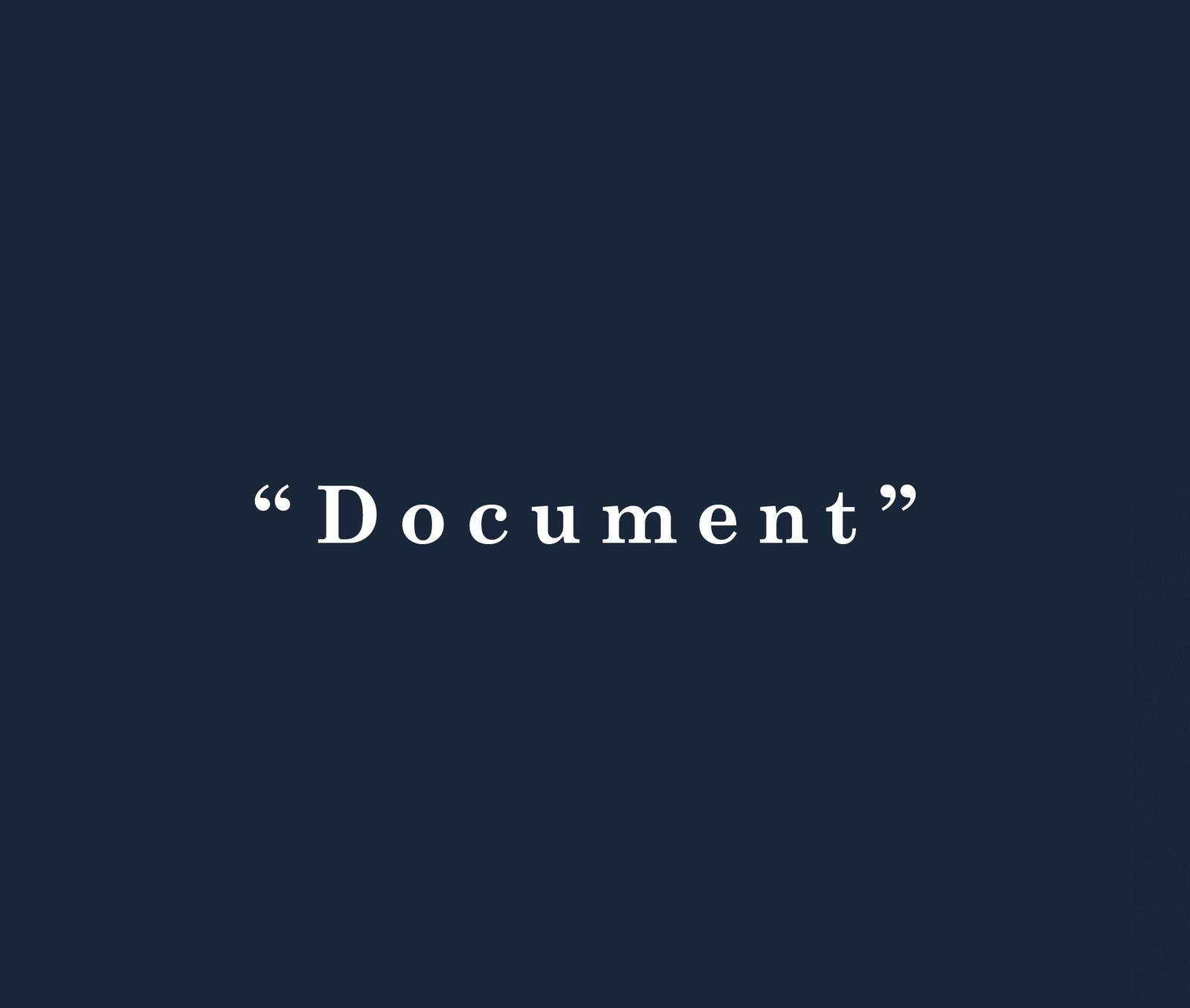 Documentfront